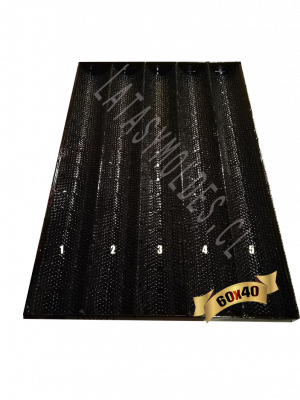 bandeja baguette de 40x60cm
